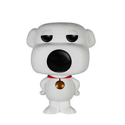 Funko POP TV: Family Guy Brian Action Figure: Funko Pop! Television:: Toys & Games [5Bkhe0306744]