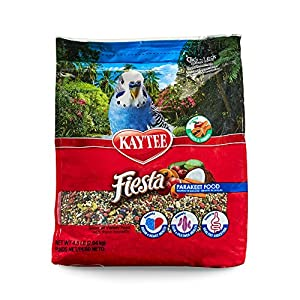 Kaytee Fiesta Parakeet Food, 4.5 Pounds 25