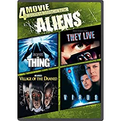 4-Movie Midnight Marathon Pack: Aliens: The Thing/They Live/Village Of The Damned/Virus
