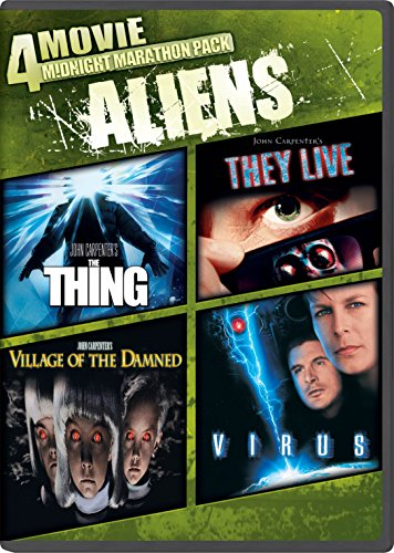 4-Movie Midnight Marathon Pack: Aliens: The Thing / They Live / Village Of The Damned  / Virus