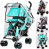 Stroller Rain Cover with Universal Lightweight Weather Shield Against rain - Wind - Snow - dust for Baby Trend Such as Summer Infant