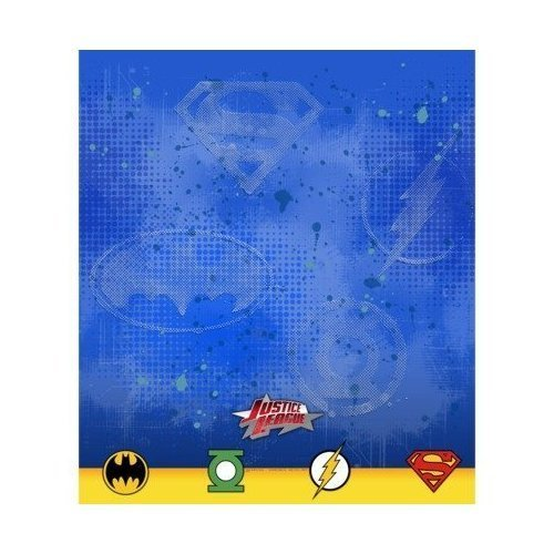"7ec809124bd Justice League Rescue 54′""x 96″ Plastic Tablecover"
