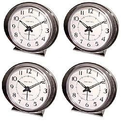 Westclox Baby Ben 11611Q Battery Operated Alarm Clock - Quantity 4