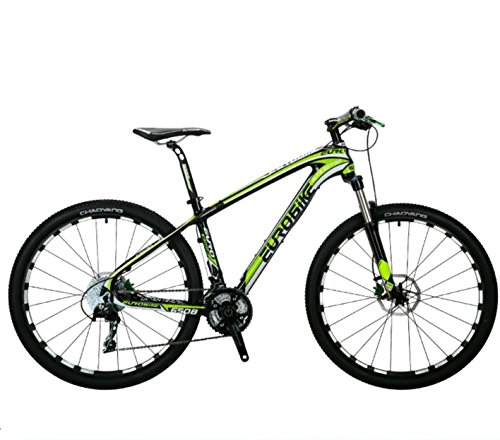 27 Speed Carbon MTB Bike 27.5er 17.5'' Size - Green by EuroBike