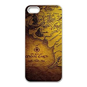 DAZHAHUI lord of the rings Phone Case for Iphone 5s