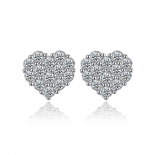 Western Style Earrings Fashion Earrings Heart-shaped Earrings