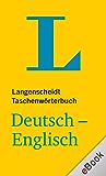 Langenscheidt Taschenwörterbuch: Deutsch-Englisch (Langenscheidt Taschenwörterbücher) (German Edition)