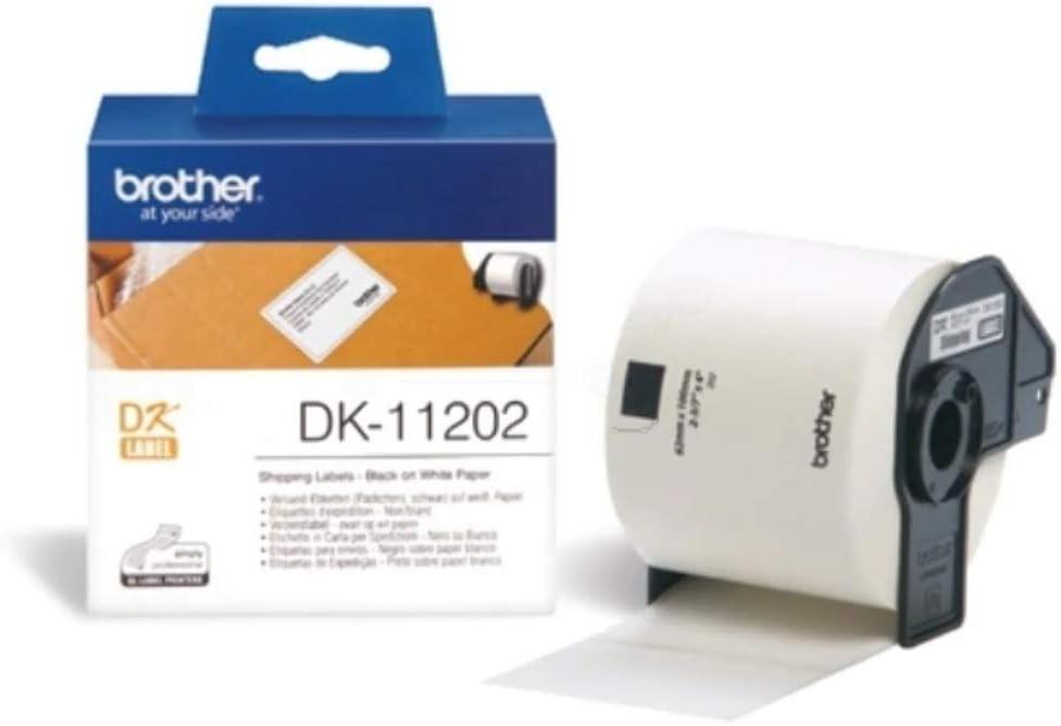 QL-1060N QL-1050N QL-1100 2x DK-22243 102 mm x 30.48 m Compatibili Etichette Nastri adesive continuo per Brother P-Touch QL-1050 QL-1110NWB etichettatrici