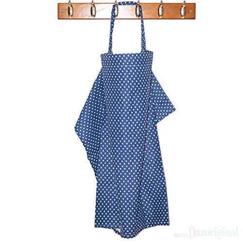 Dazoriginal Couverture d allaitement Voile d Allaitement Qualite Superieure 100 Coton Nursing Cover tablier de soins infirmiers allaitement couverture Bleu