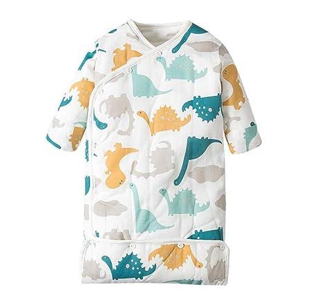 ML Saco de Dormir para bebés, Infantil, Saco de Dormir de algodón, patrón de Dibujos Animados en Seis Capas de Gasa, niño y niña (1-12 Meses): Amazon.es: ...