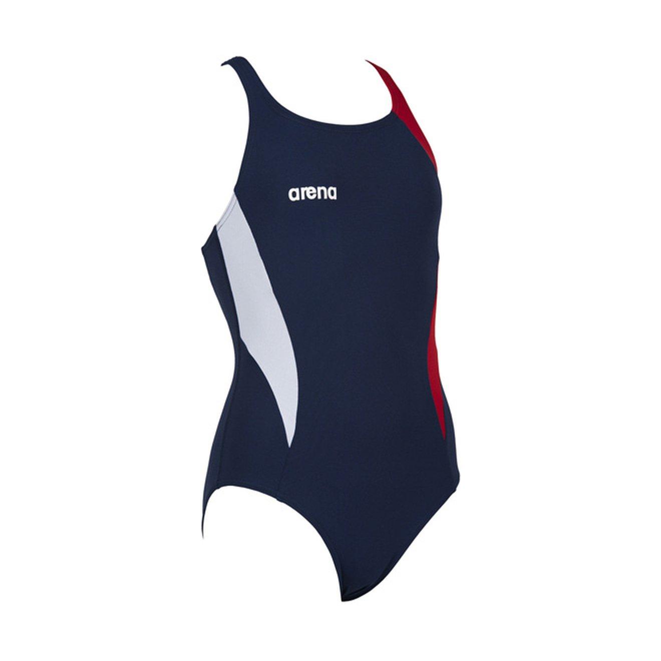 人気ブランドの Arena Directus Girls 26 Directus One Piece Swim Suit Suit 26 レッド/ホワイト/ブルー B01M0G7J9W, ドレスコスチュームのイースタイル:e218f90e --- vezam.lt