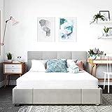 Classic Brands Cool Gel Memory Foam 6-Inch Mattress/CertiPUR-US Certified/Bed-in-a-Box, Twin, White
