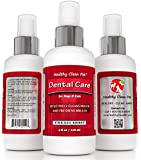 Dog Breath Freshener -All Natural Premium Dental Care Spray for Dogs and Cats, 4 oz -Helps Reduce Bad Breath, Minimize Plaque & Tartar -No Toothbrush or Toothpaste Required -by Healthy Clean Pet