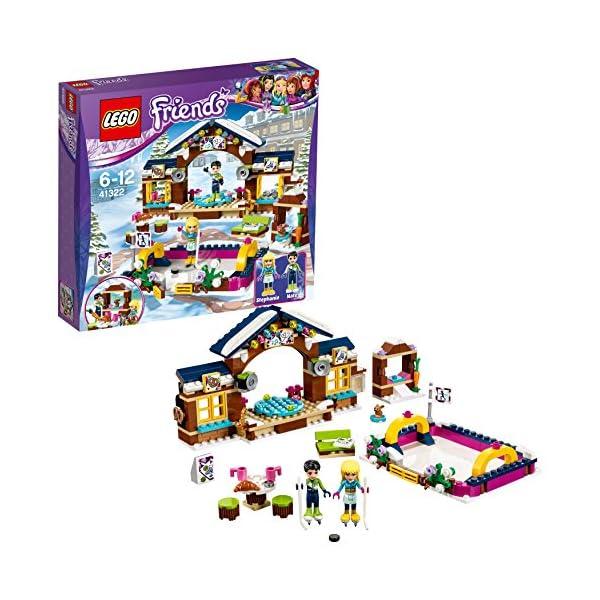 LEGO- Friends Pista di Pattinaggio del Villaggio Invernale Costruzioni Piccole Gioco, Multicolore, 41322 1 spesavip
