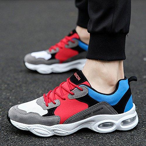 Men's Shoes Feifei Spring and Autumn Fashion Leisure Wear-Resistant Sports Shoes 4 Colors (Color : 03, Size : EU40/UK7/CN41)