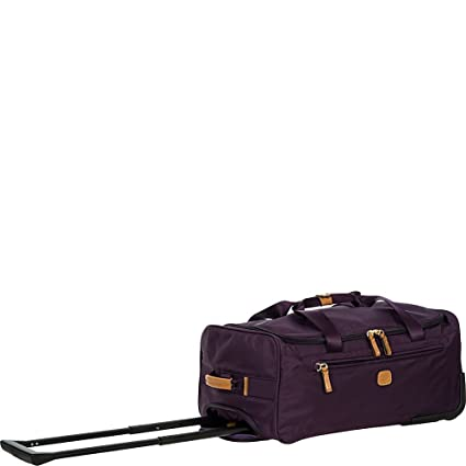 Bric s Luggage X Bag 21 Inch Carry On Rolling Duffle (Violet Purple)   Amazon.co.uk  Clothing 1f6fad47bc