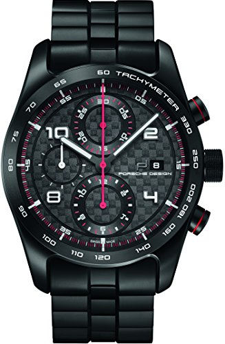 Porsche Design Chronotimer Series 1 Automatic Watch, Shot Blasted Titanium