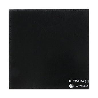 anycubic Ultra Base Impresora 3d 220 * 220 mm Plataforma de Cristal Durable Build superficie para i3 24 V MK3 HEATBED