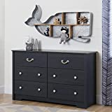 South Shore Aviron 6-Drawer Double Dresser, Blueberry