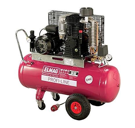 Elmag - Profi-line Euro cool PL 1200/10/270 D - compresor de aire: Amazon.es: Bricolaje y herramientas
