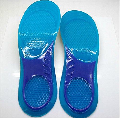 soutien Anti Silicone Homme les orthopédiques Semelles paire aux creux Respirant Coussinet toutes de de a gel sport avec talon Choc en coussin 1 s'adapter ciseaux pour Femme chaussures Wiftly qEvwHUw