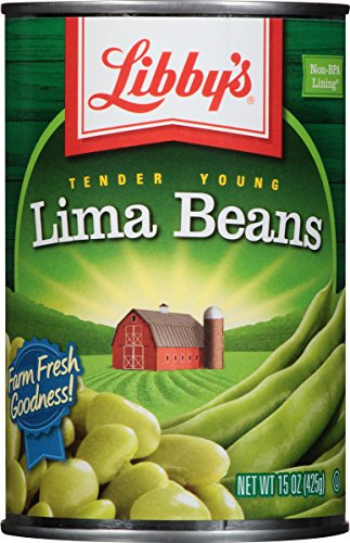 Libby's Lima Beans, 15-Ounce Cans (Pack of 12) by Libby's