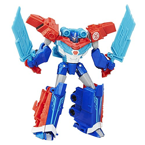 - Transformers: Robots in Disguise Warrior Class Power Surge Optimus Prime