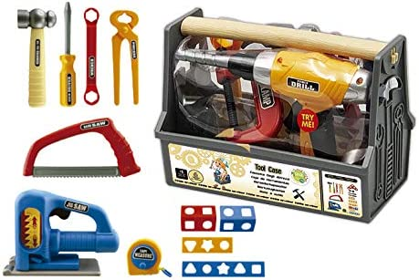Tachan - Caja de herramientas con asa y 22 piezas (7282074)