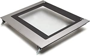 Whirlpool W10577911 Electric Range Oven Outer Door Panel and Glass, Stainless