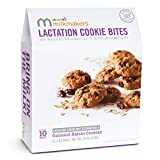 Munchkin Milkmakers Lactation Cookie Bites, Oatmeal