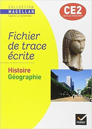 Lire un Histoire Géographie CE2 : Fichier de trace écrite pdf, epub ebook