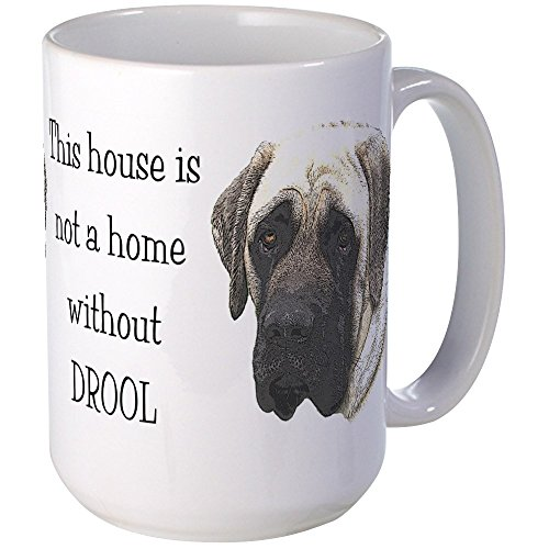 CafePress drool Mastiff Large Coffee