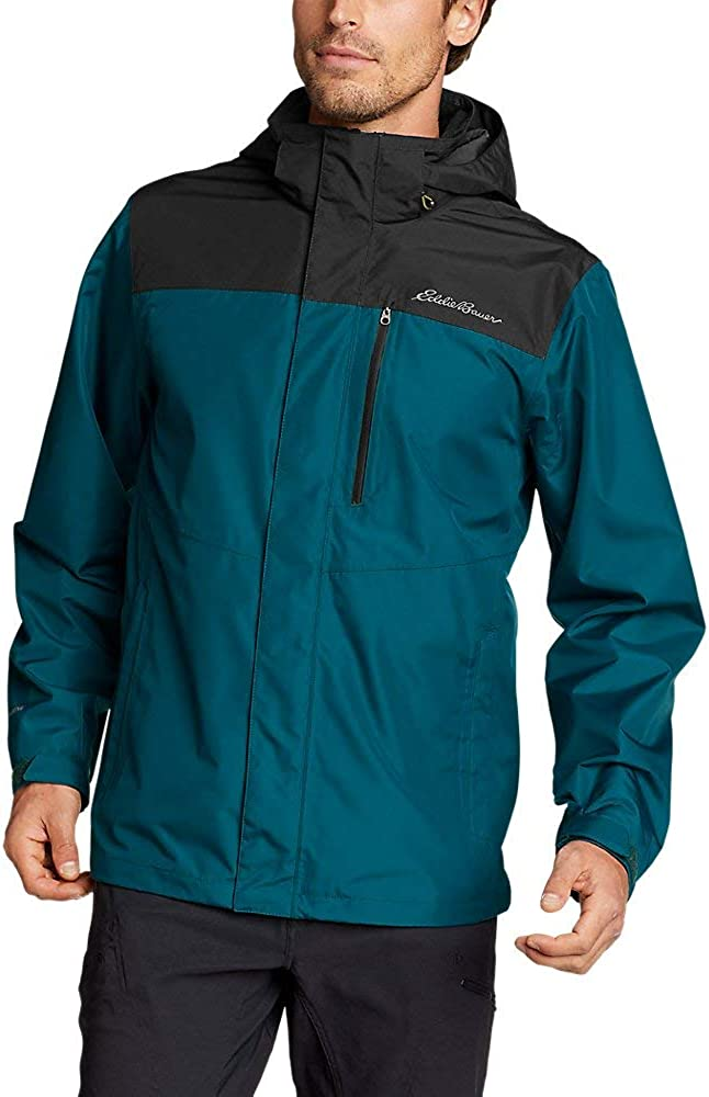 Eddie Bauer Men's Barrier Ridge 2.0 Jacket, Dk Teal Tall L