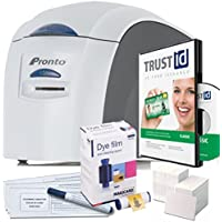 Magicard Pronto ID Card Printer & Supplies Package - Official Bundle