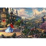 Ceaco Thomas Kinkade The Disney Collection - Rompecabezas de la Bella Durmiente (750 Piezas)