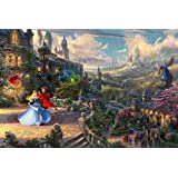 Ceaco Thomas Kinkade The Disney Collection Sleeping Beauty Enchanting Jigsaw Puzzle, 750 Pieces