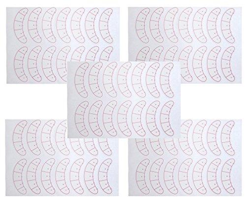 70 Paar Augenpads für Wimpernverlängerung Eyepads Lashes Eyepatches