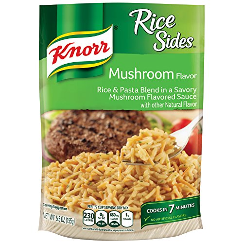 Rice Side Dishes (Knorr Rice Sides Dish, Mushroom 5.5 oz, pack of 8)