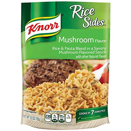 Knorr Rice Sides Dish, Mushroom 5.5 oz, pack of 8