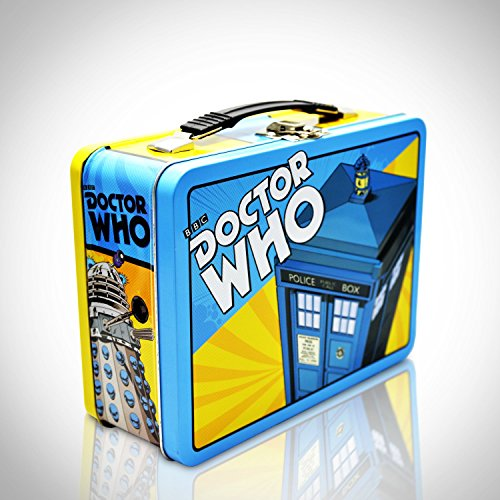 'DOCTOR WHO - TARDIS' Tin Lunch Box]()