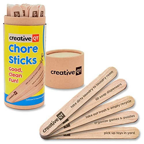Creative QT Chore Sticks - Make It A Game For