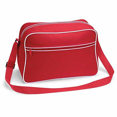 Red bolsa BagBase hombro de Retro x8qXXgIn