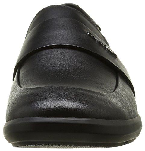 Calvin Klein Zafar Soft Calf, Mocasines para Hombre Negro (blk)