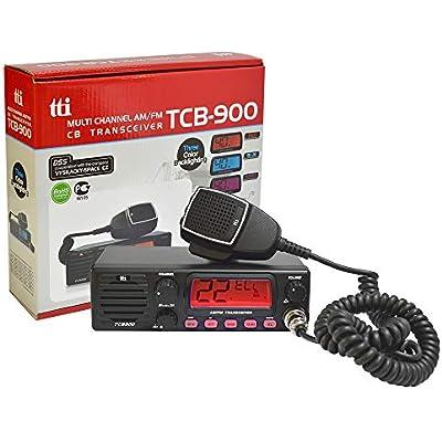 Radio TTi TCB-900 12-24V power supply with front speaker  AM-FM  12V-24V  4W  Scan  ASQ  Lock
