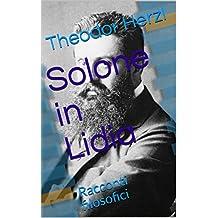 Solone in Lidia: Racconti filosofici (Free Ebrei - Documenti Vol. 11) (Italian Edition)