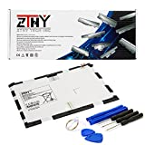 ZTHY Compatible EB-BT550ABE Tablet Battery Replacement for Samsung Galaxy Tab A 9.7'' SM-P550 T550 T555C T555 Series Tablet 3.8V 22.8Wh 6000mAh with Tools