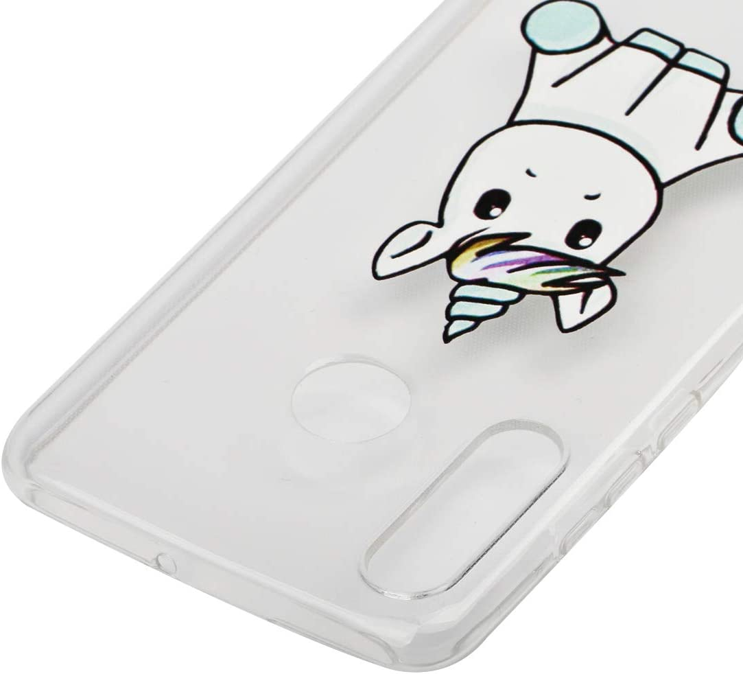 3 Pack Weideworld 3D Patr/ón Flexible Ultra Slim TPU Silicona Back Carcasa Funda para Huawei P30 Lite Funda para Huawei P30 Lite Amor