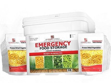 Amazon.com: My Almacenamiento de Alimentos (120 porciones de ...