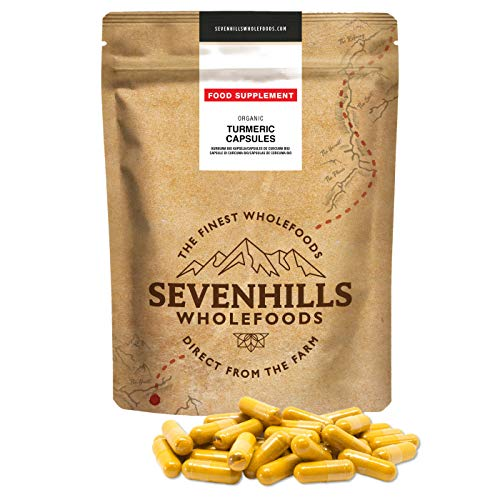 Sevenhills Wholefoods Cúrcuma Crudo En Polvo Orgánico 1kg