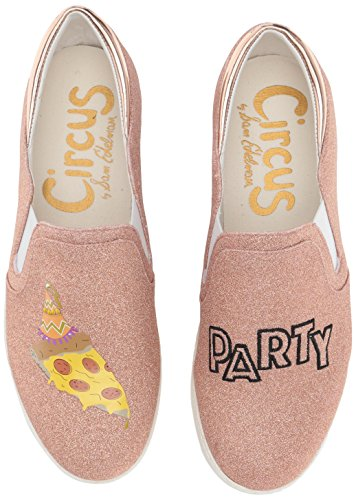 Pizza 27 Sam Circus Edelman para by Rose Party Charlie Gold Tenis Mujer w7v7xS